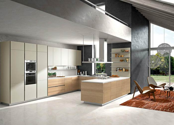 Introducing WAY, Snaidero's newest kitchen cabinet style
